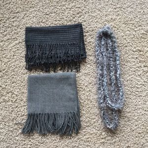 Geoffrey Beene, NY & Co. scarves & thin loop scarf